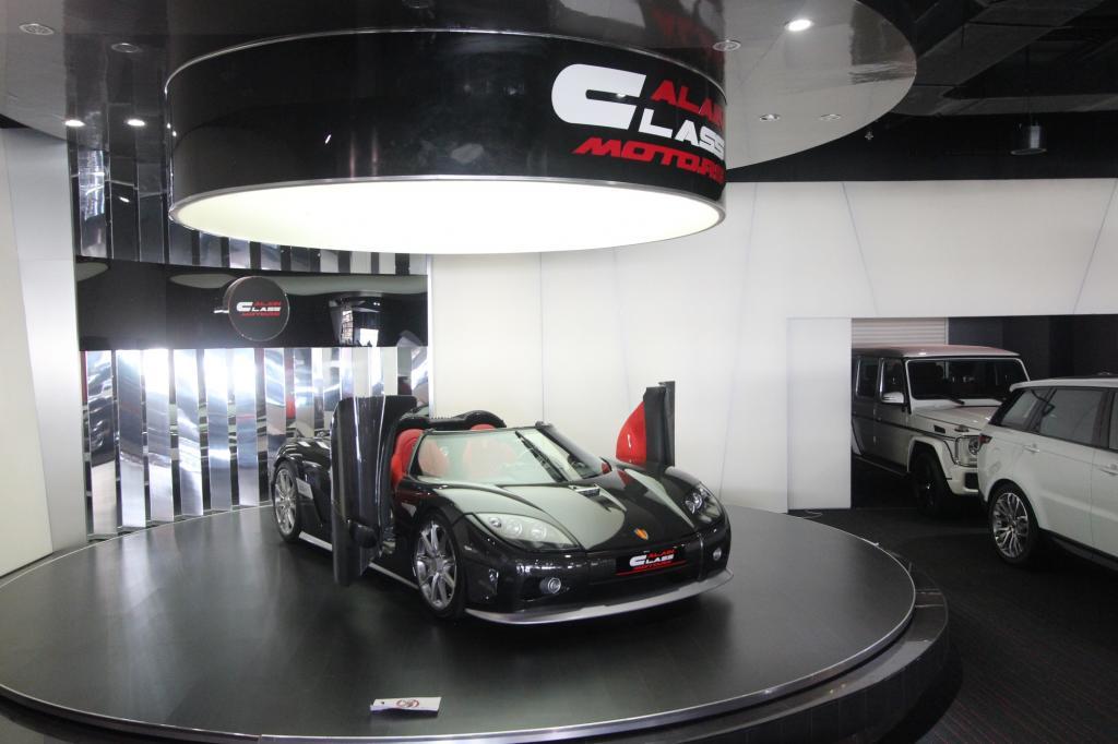 Fünf Showrooms und über 250 Lagerfahrzeuge vom Ferrari F12 bis zum Pagani Huayra machen den Araber zum größten PS-Dealer der Welt.