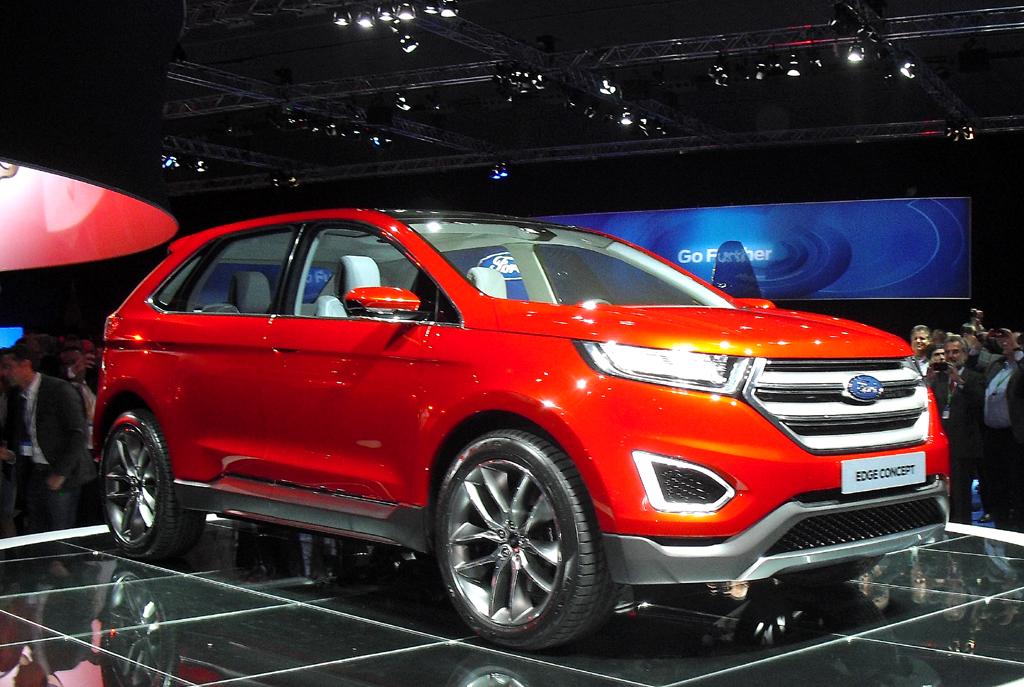 Ford-Studien Edge und Ka: Für gehobene SUV und alltagsgerechte urbane Mobilität