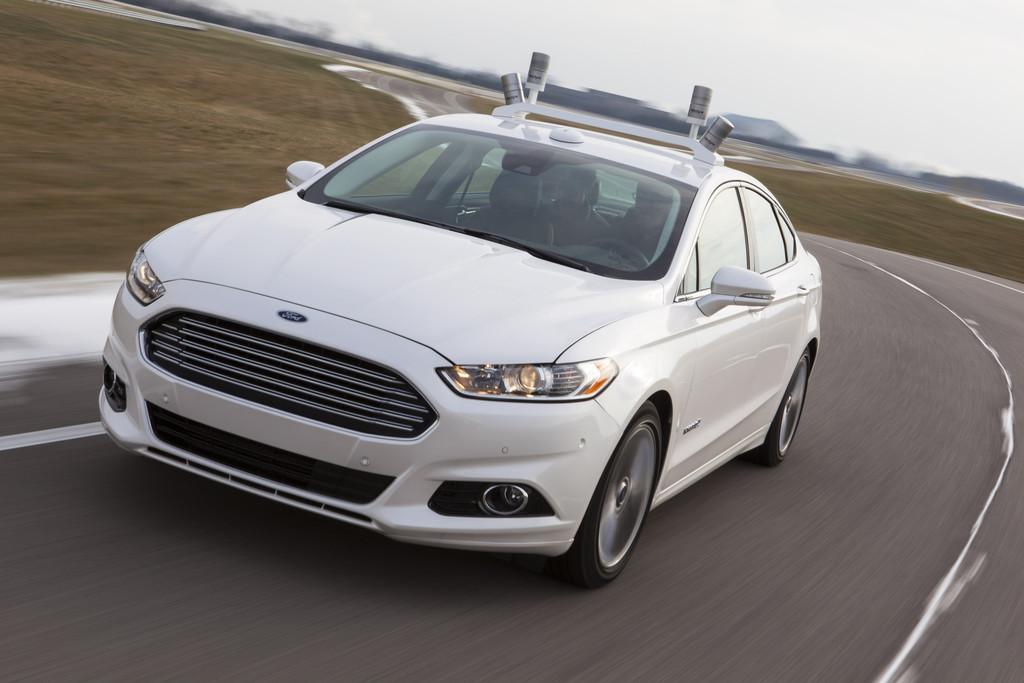 Ford tastet die Straße 2,5 Millionen Mal pro Sekunde ab