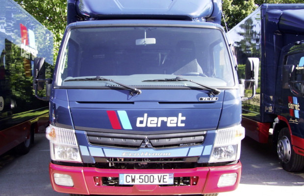 Französischer Logistiker übernimmt 22 Fuso Canter Eco Hybrid