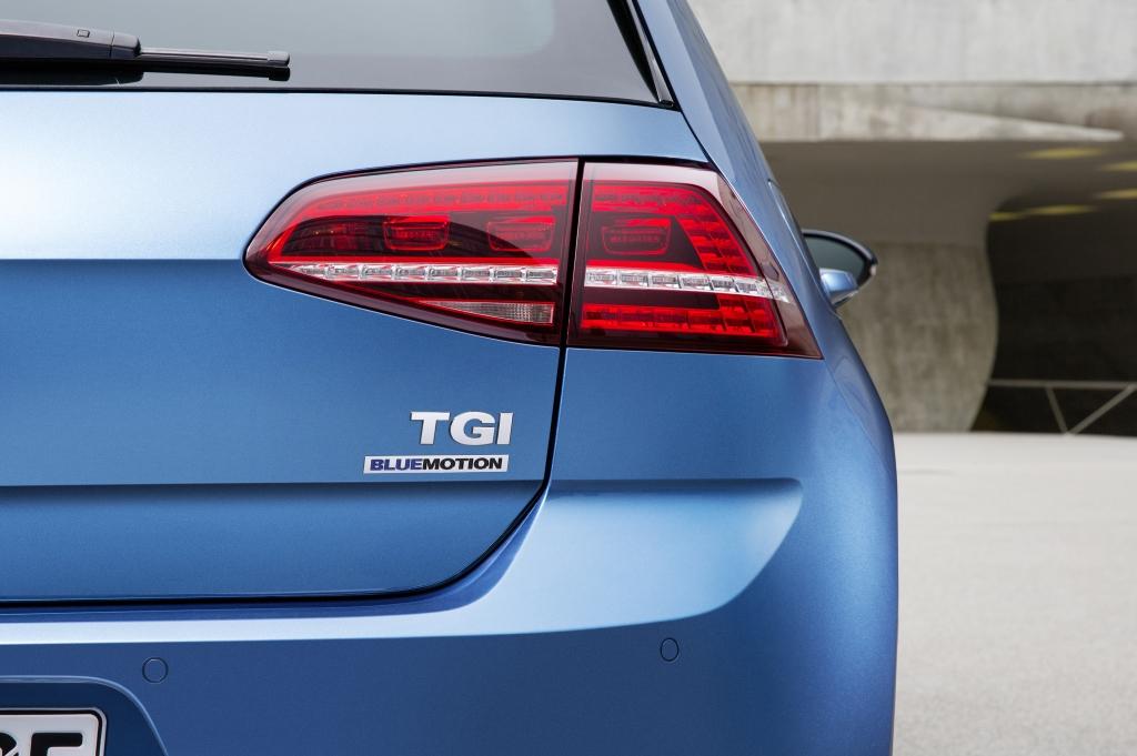 Golf TGI BlueMotion - Ein Golf gibt Gas