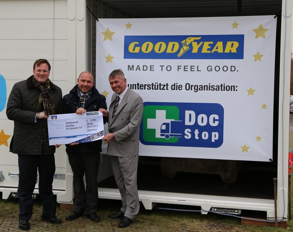 Goodyear beteiligt sich am Spenden-Adventskalender