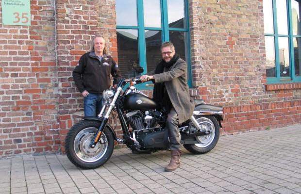 Harley-Davidson Dyna Fat Bob: Versteigerung für guten Zweck