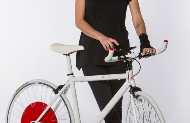 Hightech-Nabe macht Fahrrad zum Pedelec