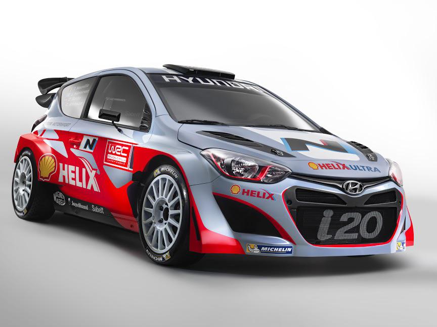 Hyundai-Team bereit für die Rallye-WM 2014