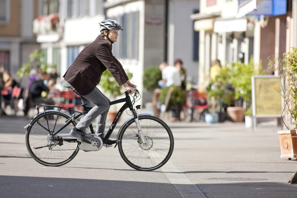Kein Schadensersatz für Radler bei Unfall in Fußgängerzone
