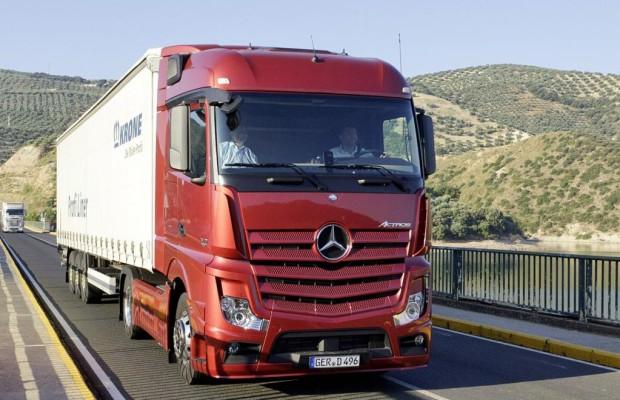 Lastwagen sind auf den Straßen eher nervend