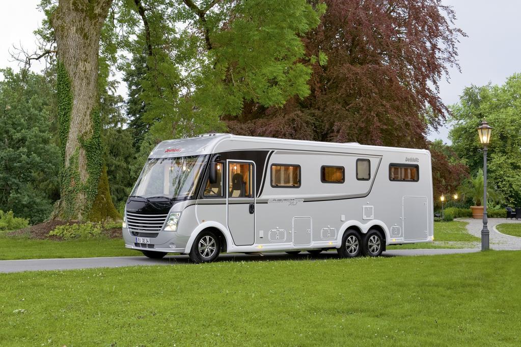 Luxus-Wohnmobil zum Sonderpreis