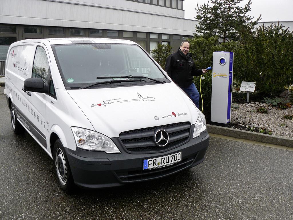 Mercedes-Benz Vito E-Cell: Erfolgreich unter Strom