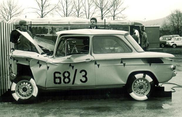 Mit einem Hang und dem DKW F 7 begann bei Audi die Crashtest-Ära