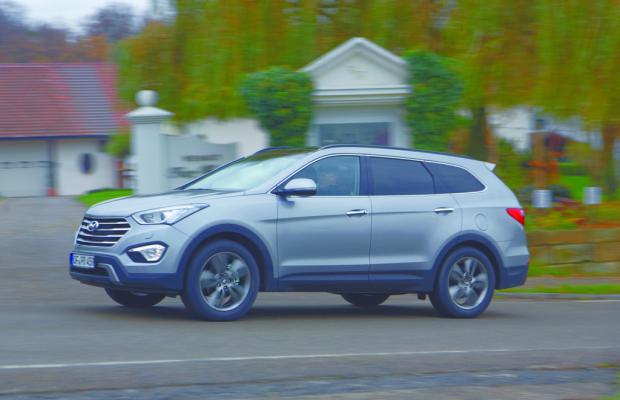 Mit sieben Sitzen - Der Hyundai Grand Santa Fe
