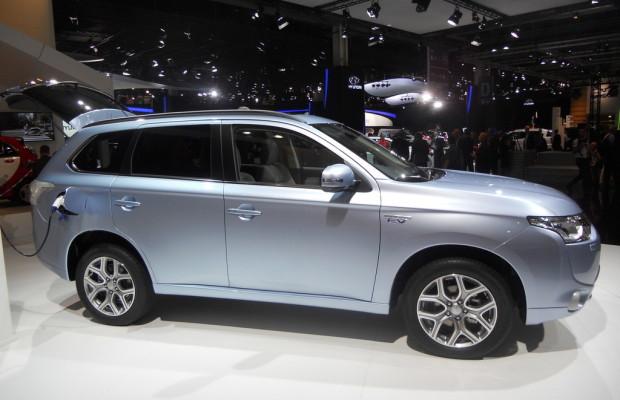 Mitsubishi Outlander PHEV gewinnt