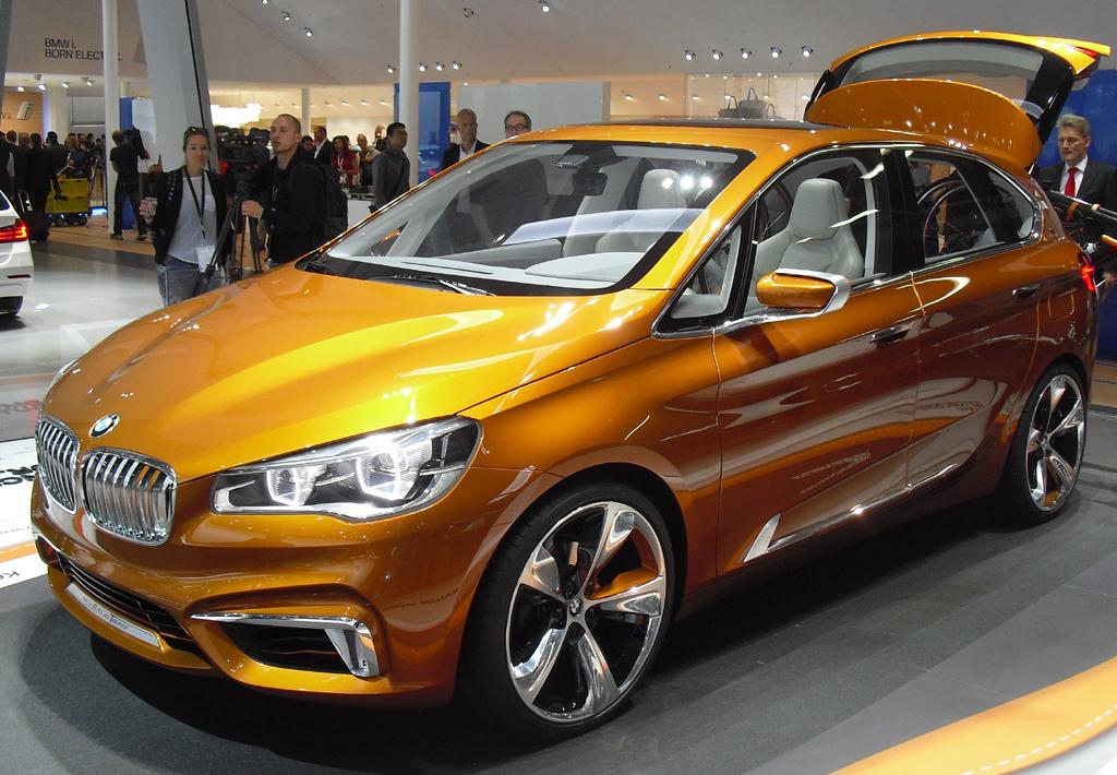 Neu 2014: BMW Active Tourer. Fotos: Koch