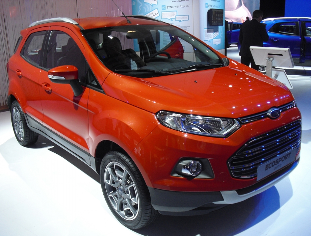 Neu 2014: Ford EcoSport.
