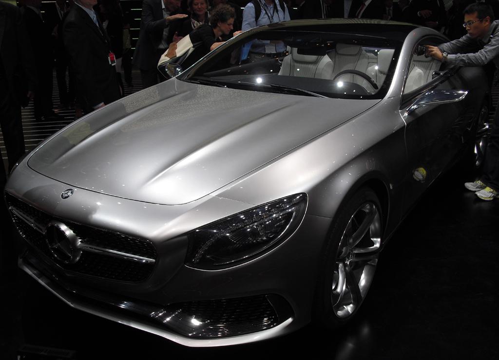 Neu 2014: Mercedes S-Coupé.