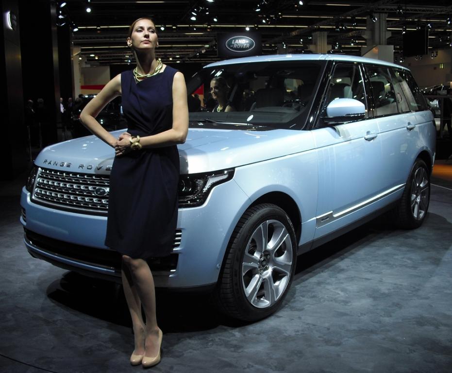 Neu 2014: Range Rover Hybrid.