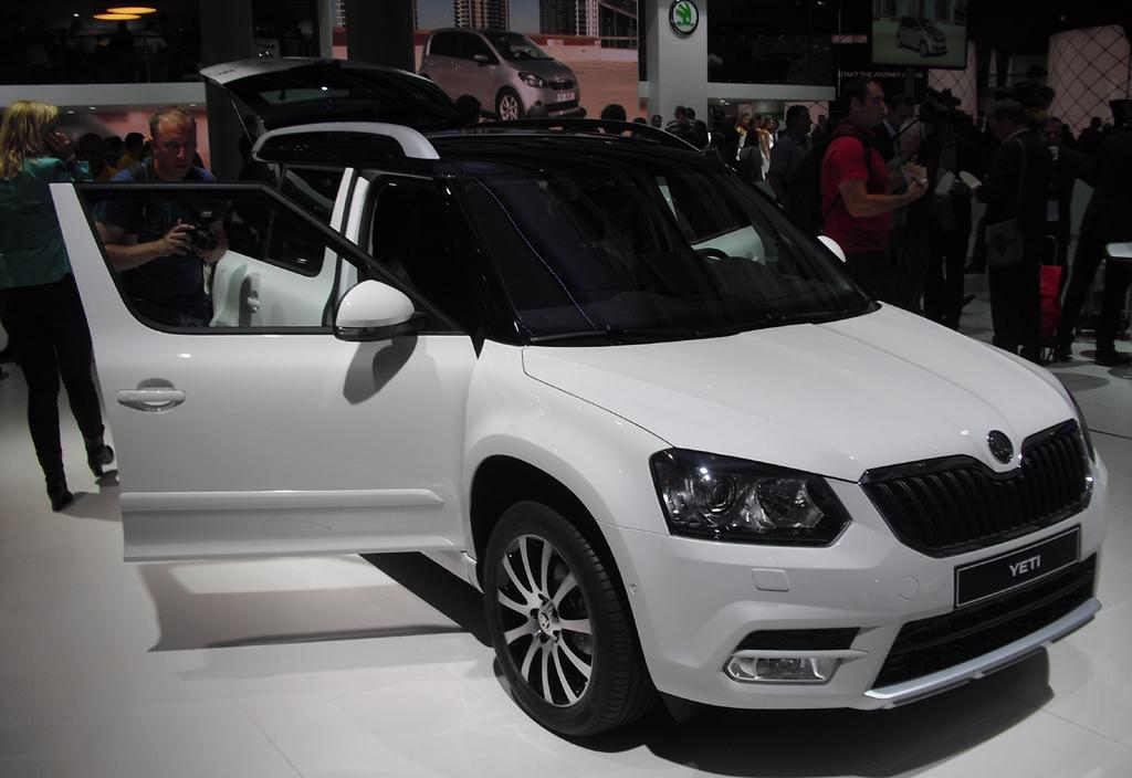 Neu 2014: Škoda Yeti.