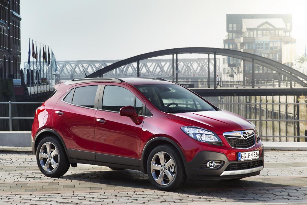 Opel bietet heute mehrere Fahrzeuge mit zwei angetriebenen Achsen; die Palette startet mit dem citytauglichen Mokka.