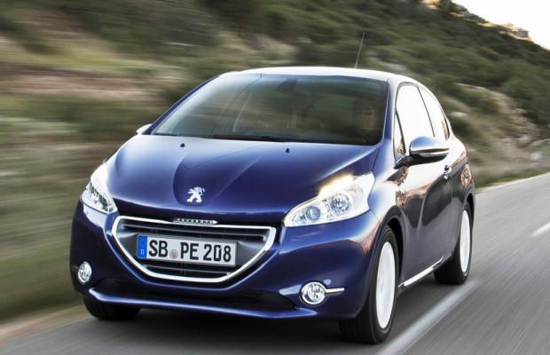 Peugeot 208 fährt allen davon