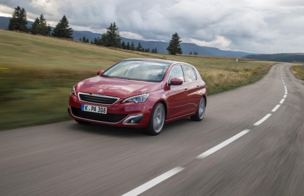 Peugeot 308 - Rolle rückwärts nach vorn