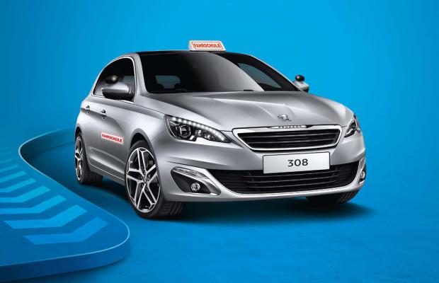 Peugeot bietet den 308 Fahrschulen zur Miete an