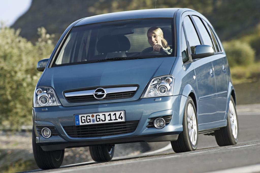 Platz ist auf der kleinsten Fläche: Der Opel Meriva nutzt seine kurze Karosserie perfekt aus und ist damit ein ideales Stadt- und Reiseauto für die Familie