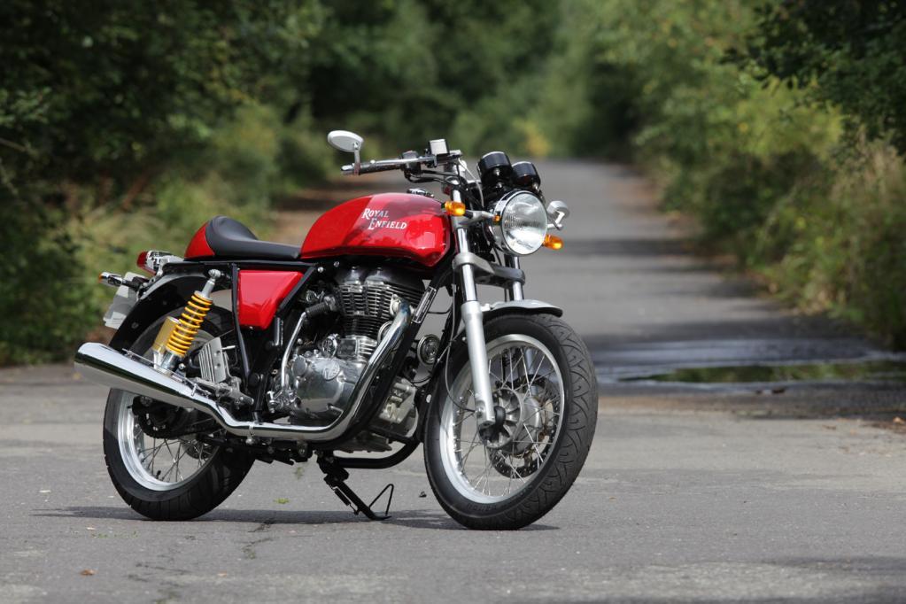 Royal Enfield Continental GT: Das Motorrad aus der Vergangenheit