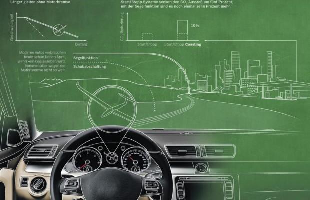 Start-Stopp-System mit Segelmodus - Motor aus bei voller Fahrt