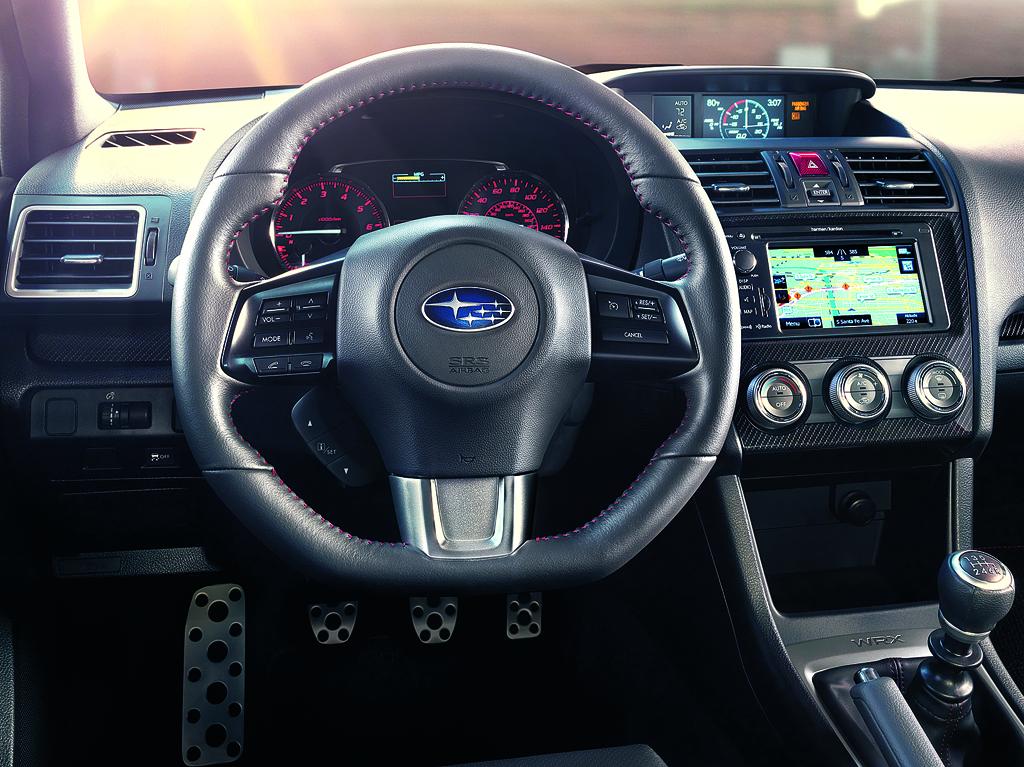 Subaru WRX: Blick ins Cockpit.