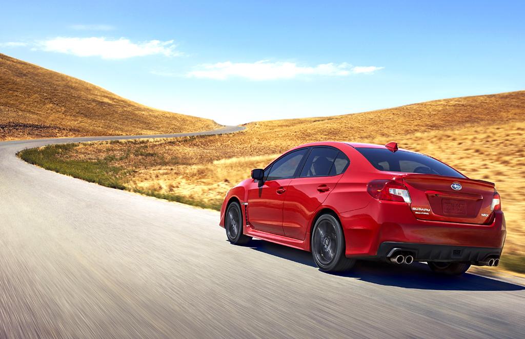 Subaru WRX: Die Neuauflage tritt ziemlich sportlich auf.