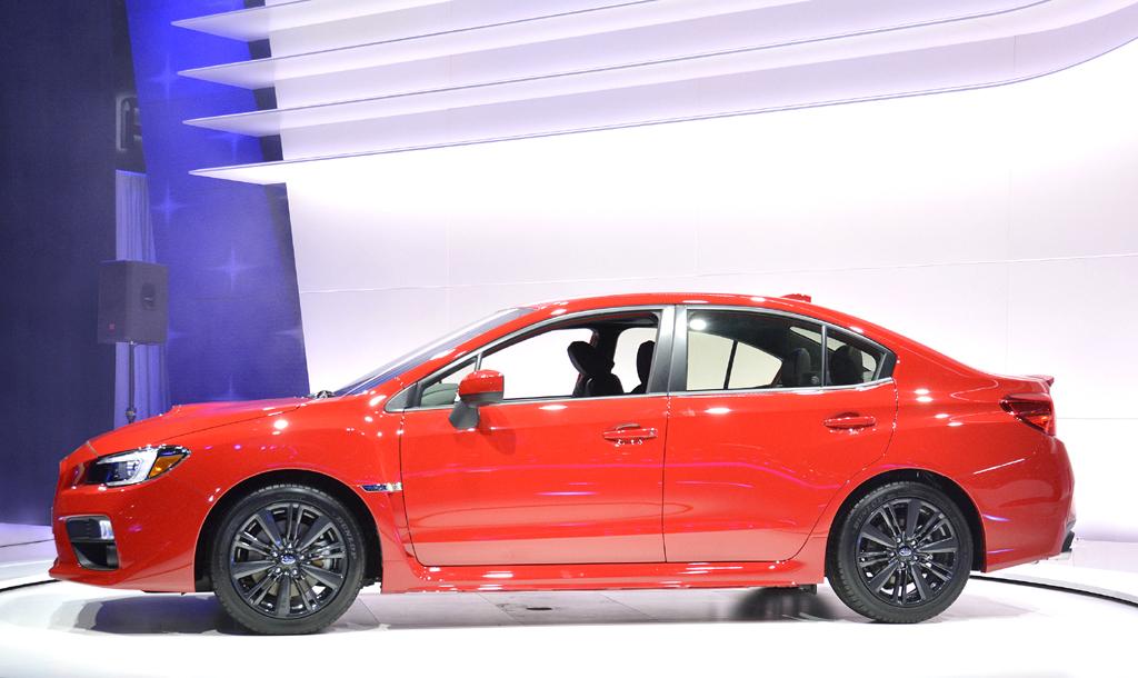 Subaru WRX: So sieht das Kompaktmodell von der Seite aus.
