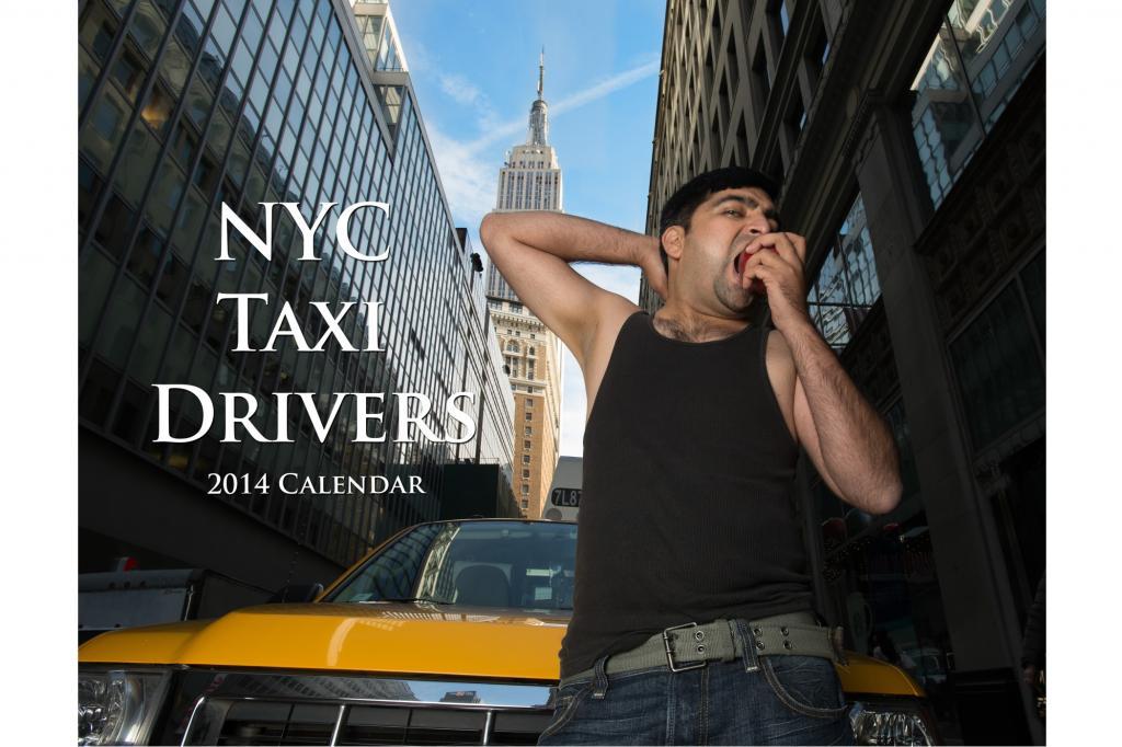Taxifahrer Akt-Kalender - Mich kann man mieten
