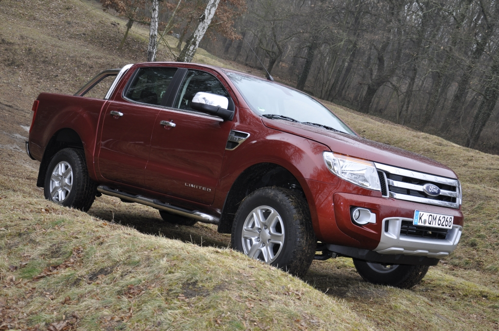 Test Ford Ranger 2.2 TDCI Limited - Arbeitstier im feinen Zwirn