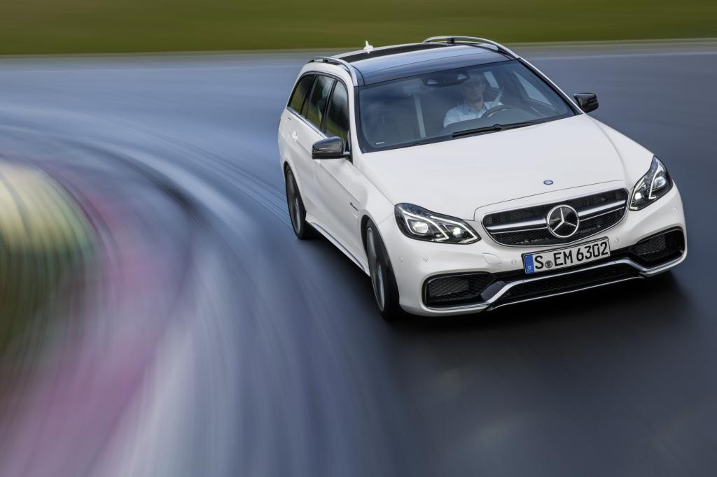 Test: Mercedes E63 AMG 4Matic S T-Modell - Chef im Rudel