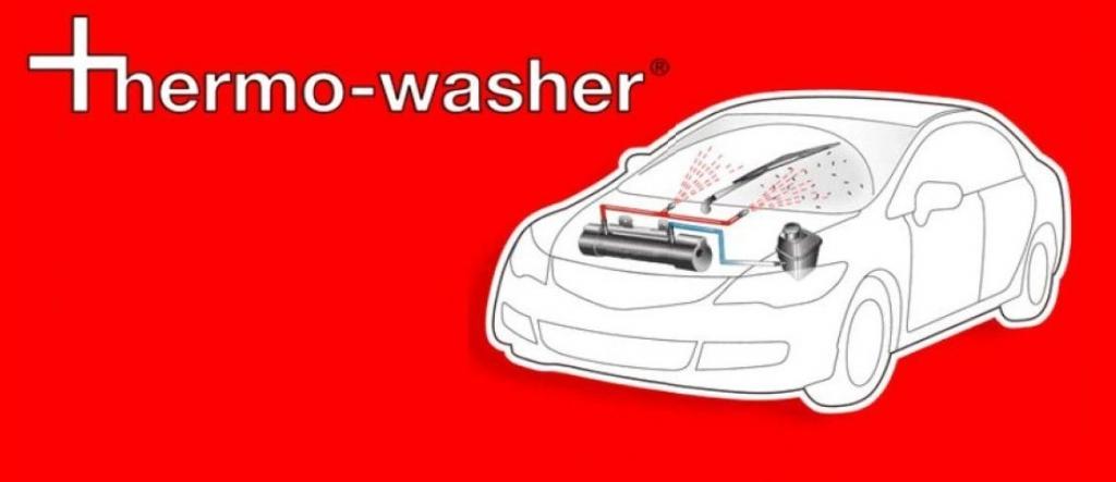Thermowasher®: Sichere Fahrt dank sauberen Scheiben