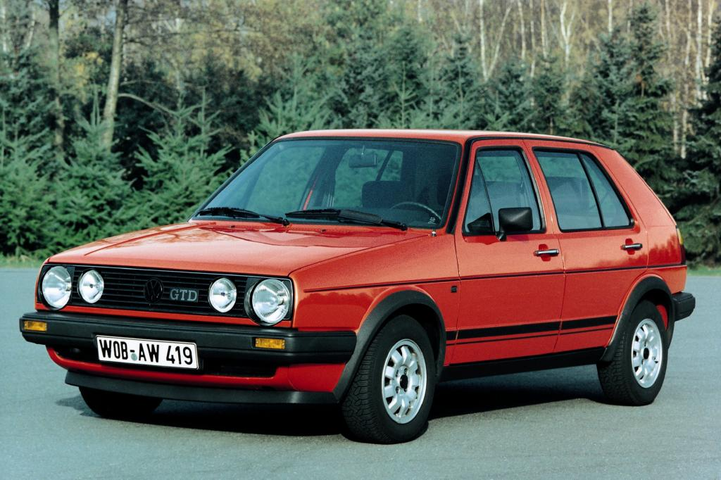 VW Golf GTD ab 1984