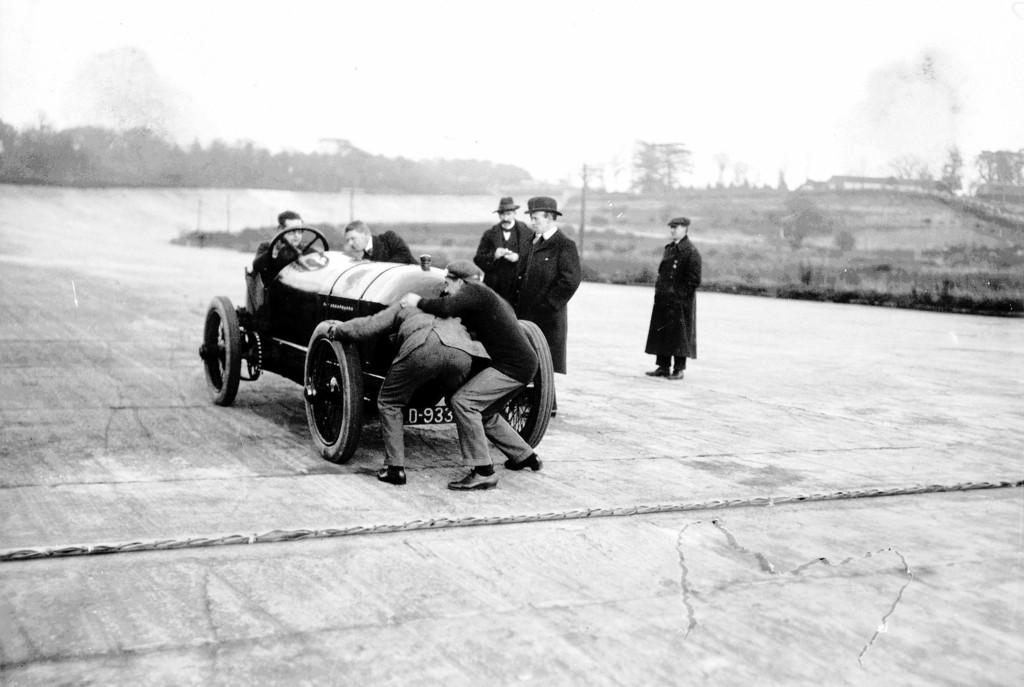 Vor 100 Jahren: Blitzen-Benz geht auf Rekordjagd