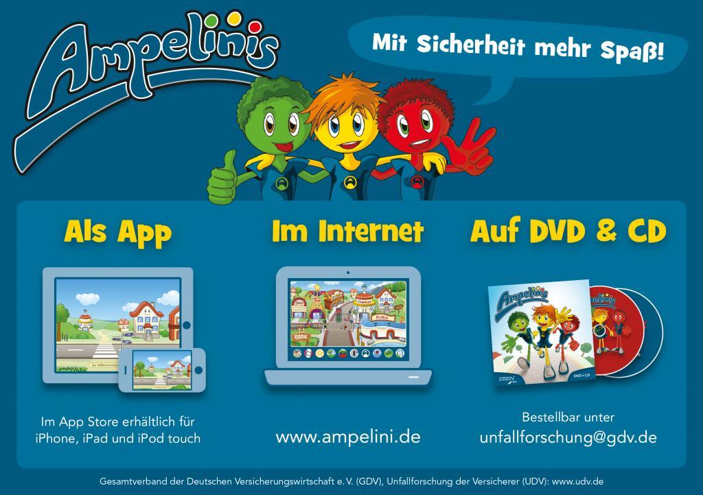 Website der UDV beim Kinder Online Preis 2013 ausgezeichnet