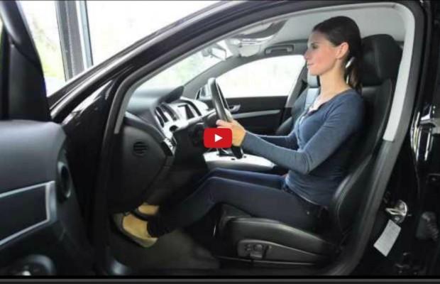 Zum Anschauen und Nachmachen: Richtig sitzen im Auto