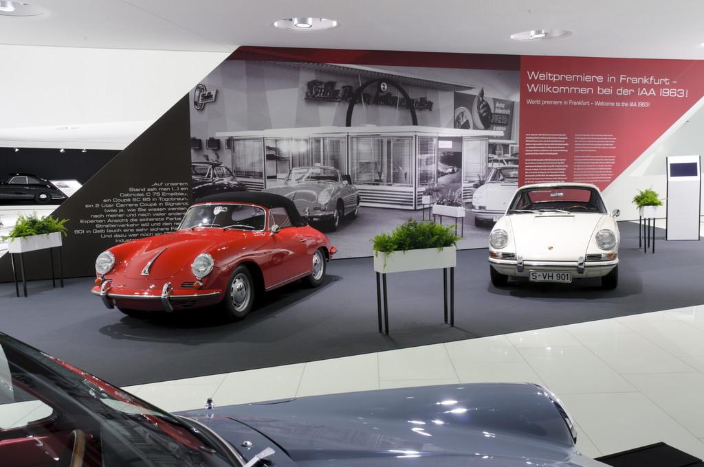 Zwei Millionen Besucher im Porsche-Museum