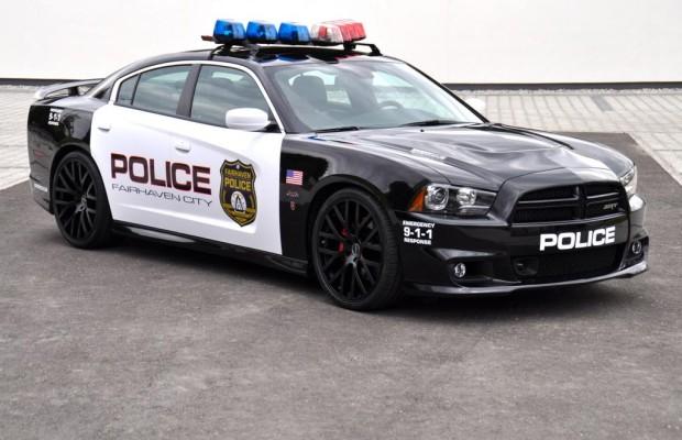 3 000 Euro Strafe für falsches Polizeiauto