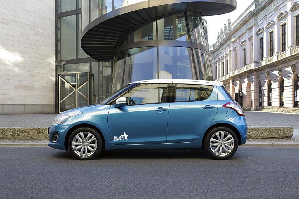 """Aktuell gibt es den Suzuki Swift als gut ausgestattetes Sondermodell """"30 Jahre Swift"""""""