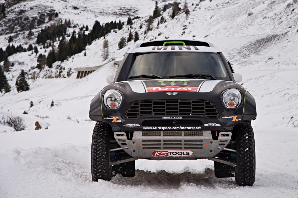 Als Dakar-Rennwagen macht der Mini Countryman seinem Namen endlich alle Ehre