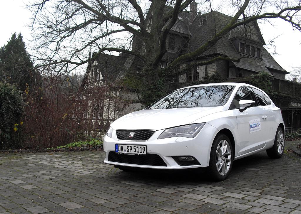 Auch als SC baut der Seat León auf der Plattform des Schwestermodells VW Golf auf.