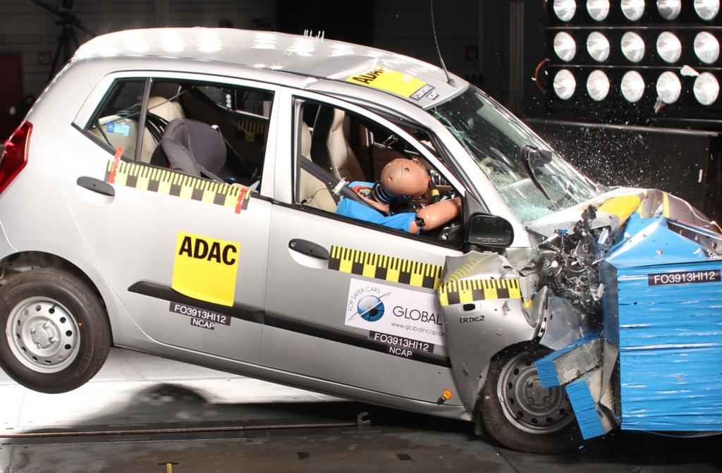 Auch der Hyundai i10 konnte im Test keine Sterne erreichen