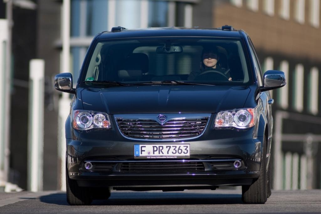 Auch der Lancia Voyager ist eine Adaption des gleichnamigen Modells von Chrysler