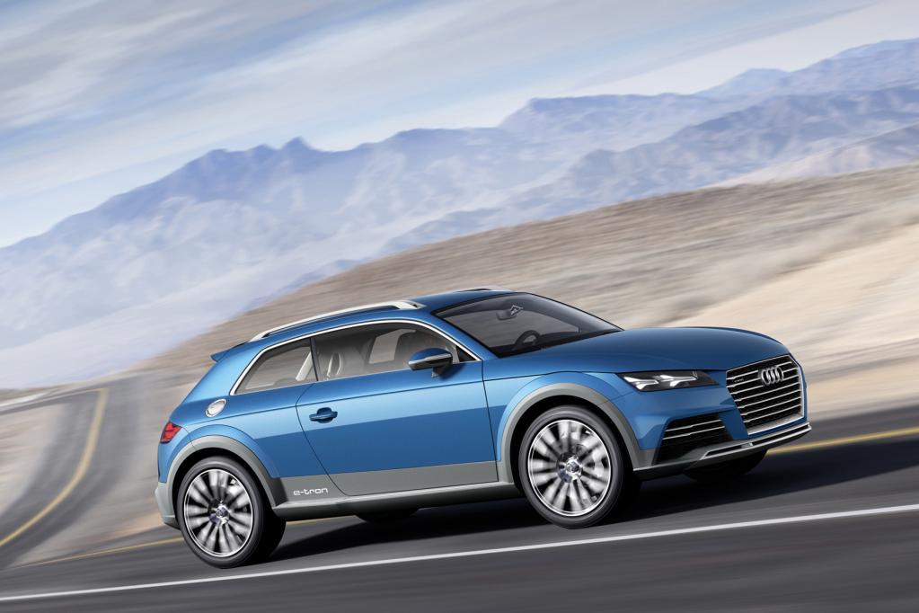 Audi Allroad Shooting Brake: Sportlich, sparsam und auch fürs Gelände