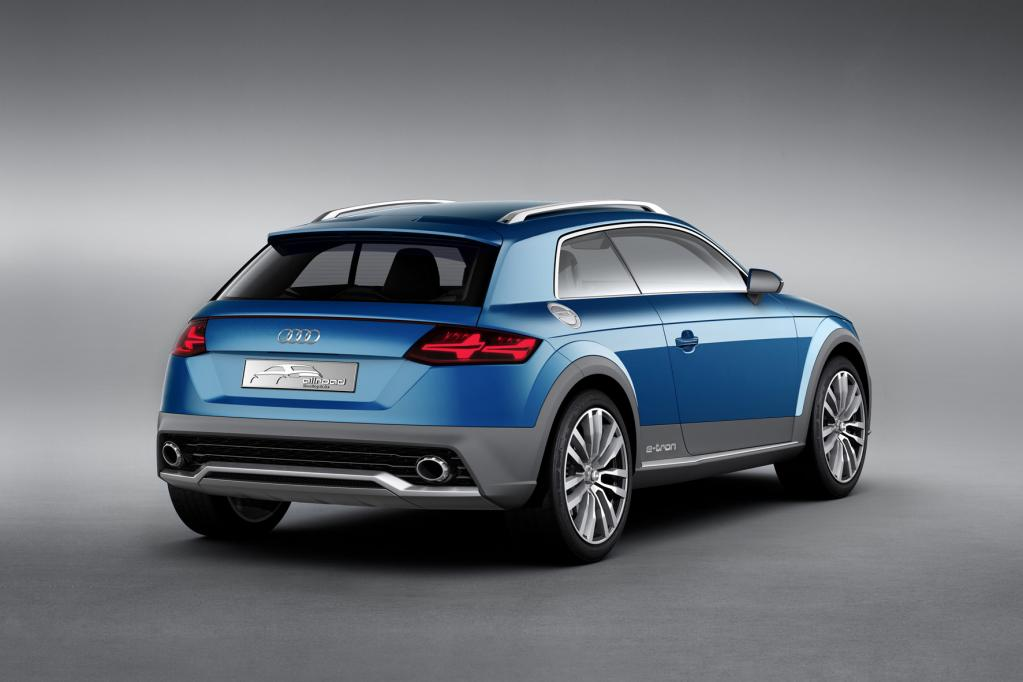 Audi-Studie: Sportlich, sparsam und auch fürs Gelände
