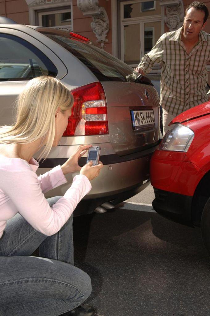 Ausparken kann teuer werden