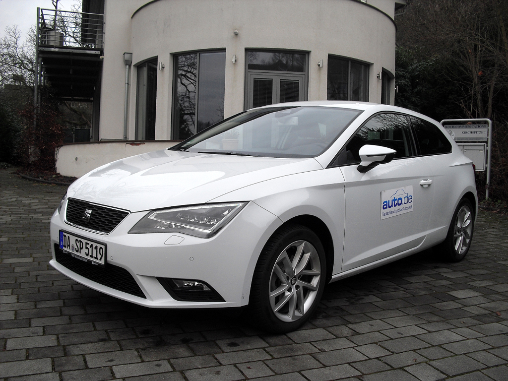 Auto im Alltag: Seat León SC 1.6 TDI Style